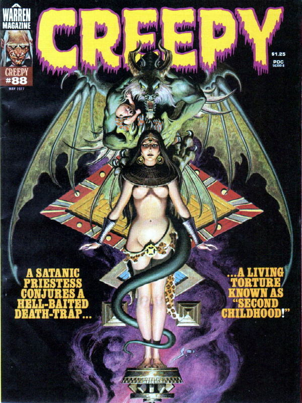Couverture de Creepy (Warren) -88- Second Childhood!