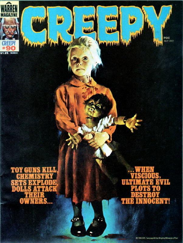 Couverture de Creepy (Warren) -90- (sans titre)