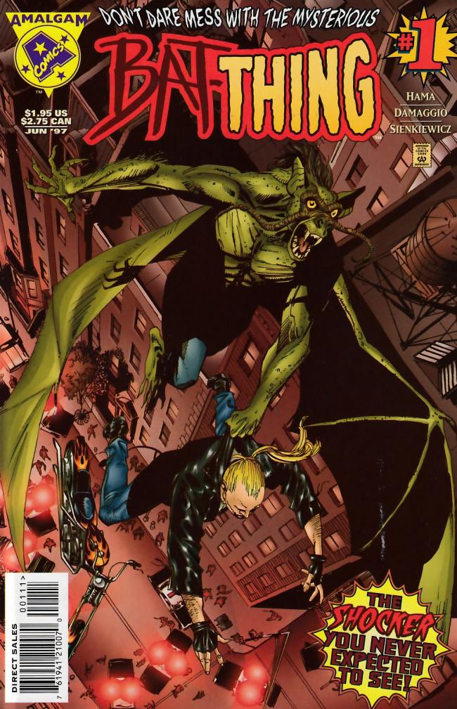 Couverture de Bat-Thing (Amalgam Comics - 1997) -1- Bat-Thing #1
