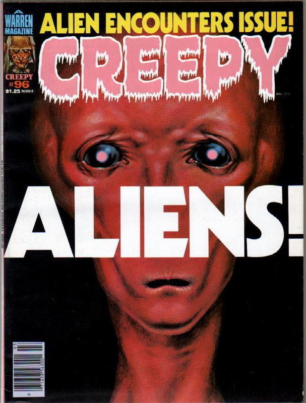 Couverture de Creepy (1964) -96- Aliens!
