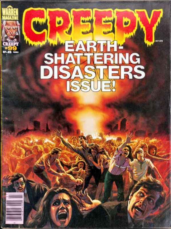Couverture de Creepy (1964) -99- Earth-shattering disasters issue!