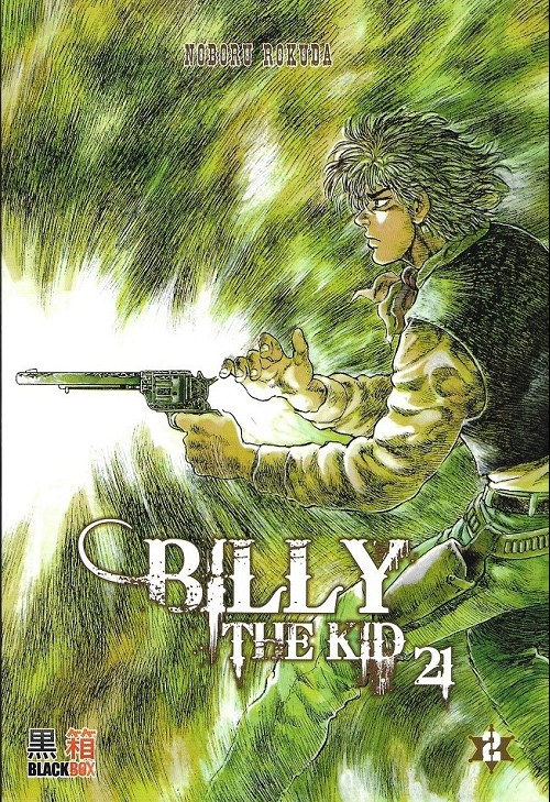 Couverture de Billy the kid 21 -2- Tome 2