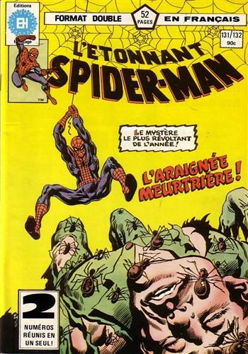 Couverture de L'Étonnant Spider-Man (Éditions Héritage) -131132- Meurtre par Araignée