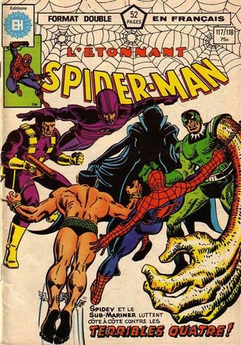 Couverture de L'Étonnant Spider-Man (Éditions Héritage) -117118- Et alors nous serons tous deux trahis !