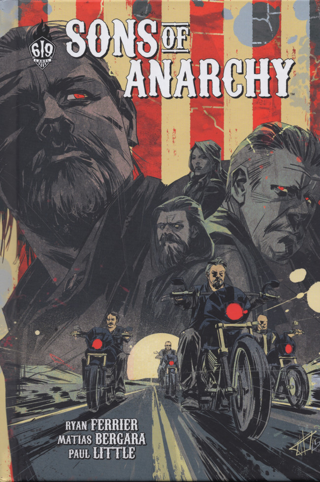 Couverture de Sons of Anarchy -6- Tome 6