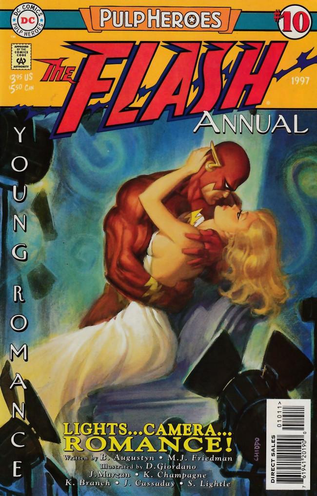 Couverture de The flash Annuals (DC Comics - 1987 series) -AN10- Lights... Camera... Romance!