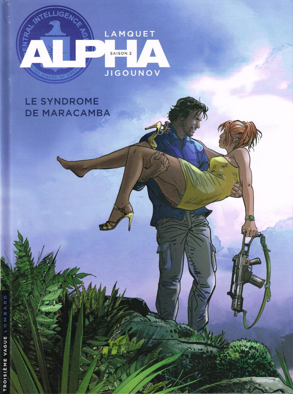 Couverture de Alpha (Renard/Mythic/Jigounov/Lamquet) -13- Le syndrome de Maracamba