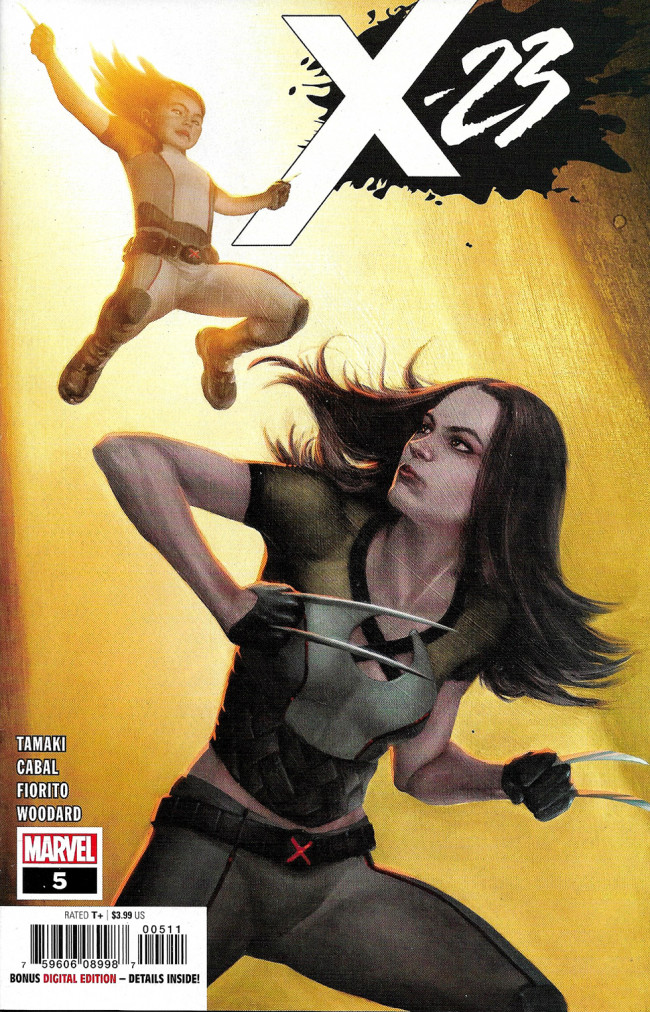 Couverture de X-23 (2018) -5- Two Birthdays And Three Funerals Part 5