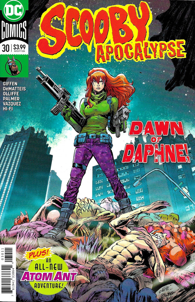 Couverture de Scooby Apocalypse (2016) -30- Night Of The Living Fred!