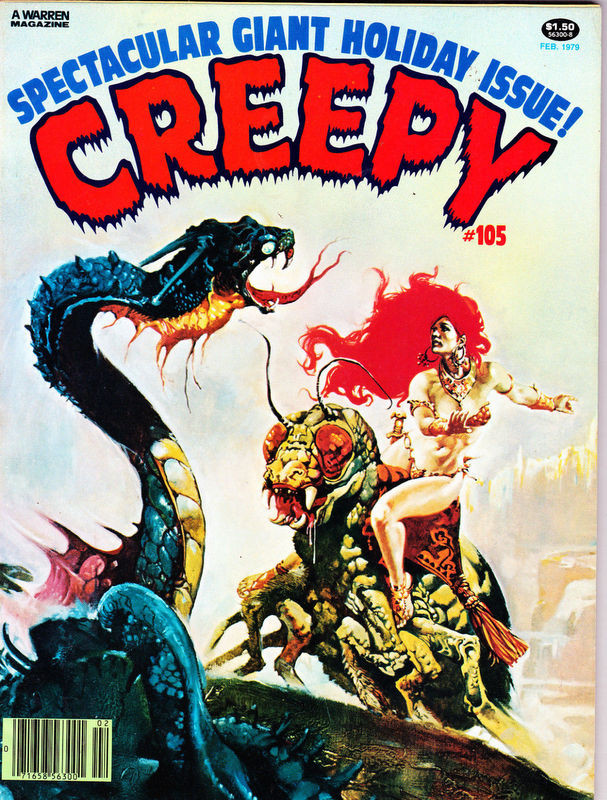 Couverture de Creepy (1964) -105- (sans titre)