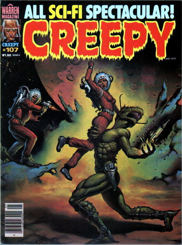 Couverture de Creepy (1964) -107- (sans titre)