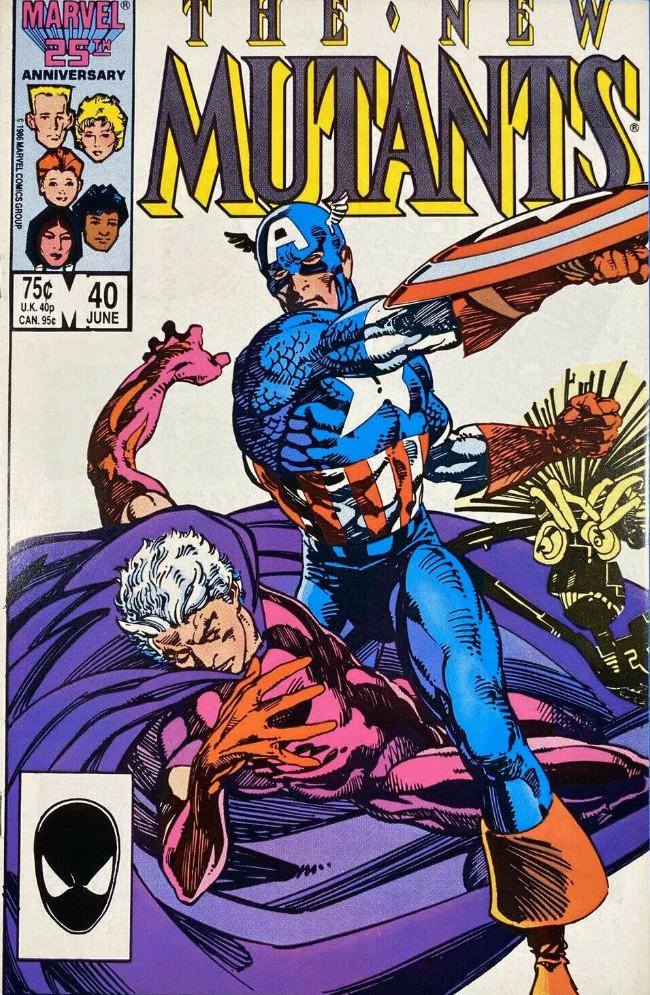 Couverture de New Mutants (The) (1983) -40- Avengers Assemble!