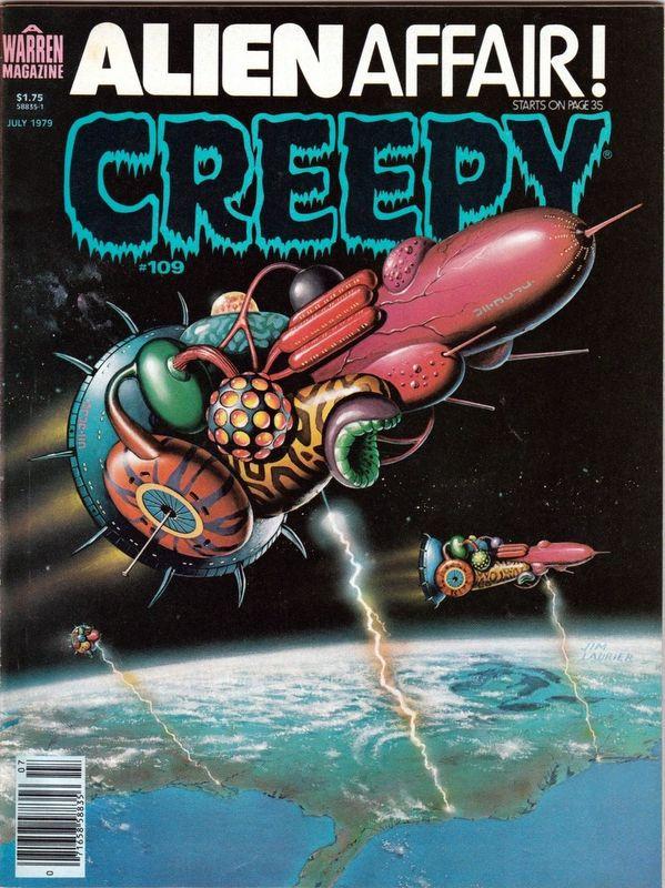 Couverture de Creepy (1964) -109- Alien Affair!