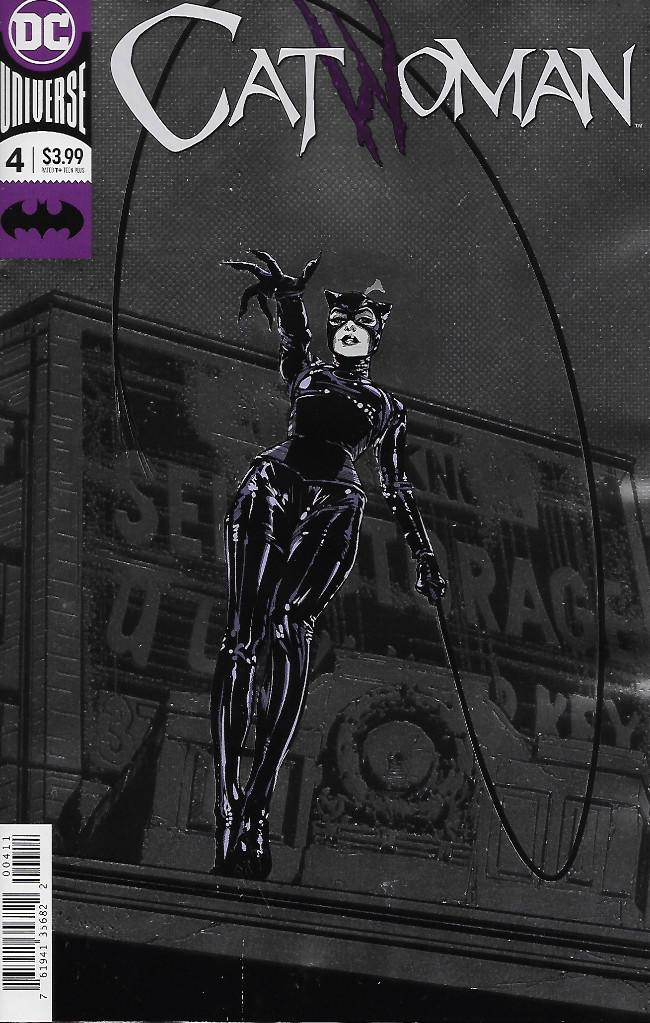 Couverture de Catwoman (2018) -4- Copycats Part 4
