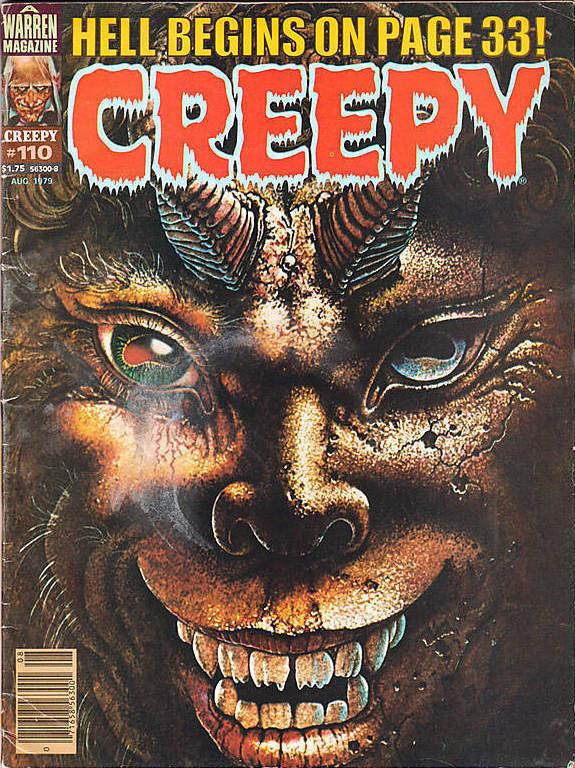 Couverture de Creepy (1964) -110- (sans titre)