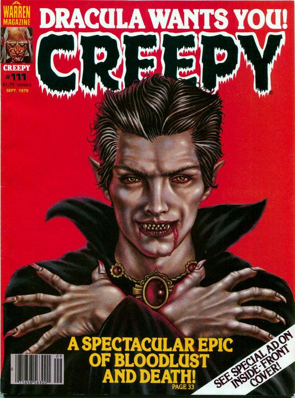 Couverture de Creepy (1964) -111- Dracula Wants You!