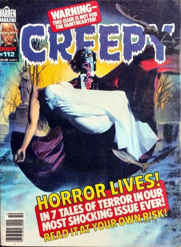Couverture de Creepy (1964) -112- Horror Lives!