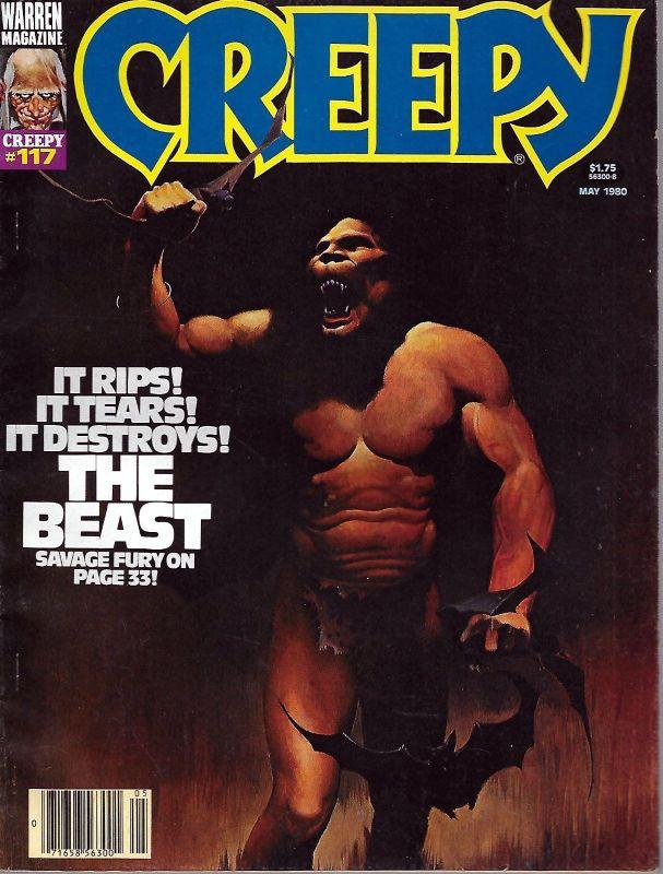 Couverture de Creepy (1964) -117- The Beast