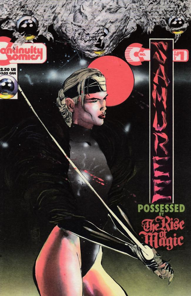Couverture de Samuree (1993) -1- The Demon 500
