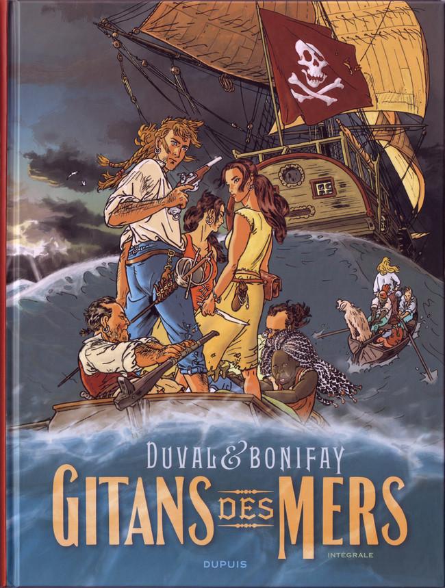 Couverture de Gitans des mers -INT- Intégrale