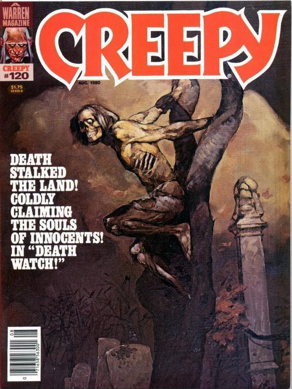 Couverture de Creepy (1964) -120- Death Watch!