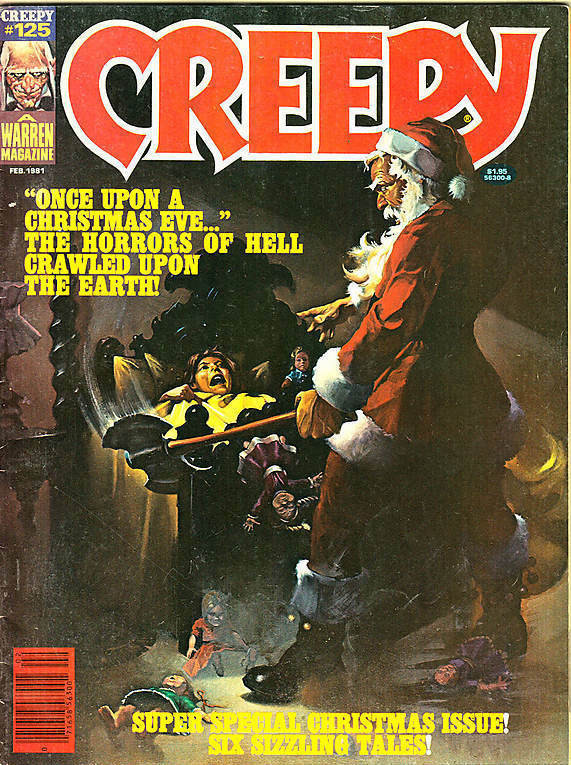 Couverture de Creepy (1964) -125- Once Upon a Christmas Eve!