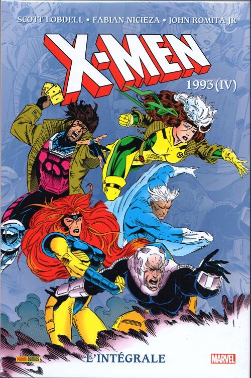 Couverture de X-Men (L'intégrale) -35- X-Men : l'intégrale 1993 (IV)