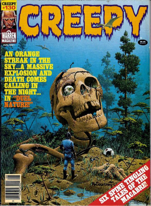 Couverture de Creepy (1964) -130- Duel Nature!