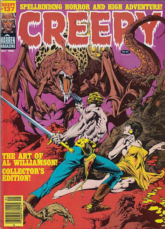 Couverture de Creepy (1964) -137- (sans titre)