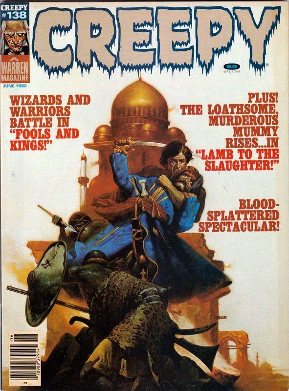 Couverture de Creepy (1964) -138- Fools and Kings!