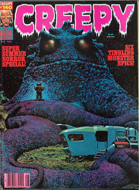 Couverture de Creepy (1964) -140- (sans titre)