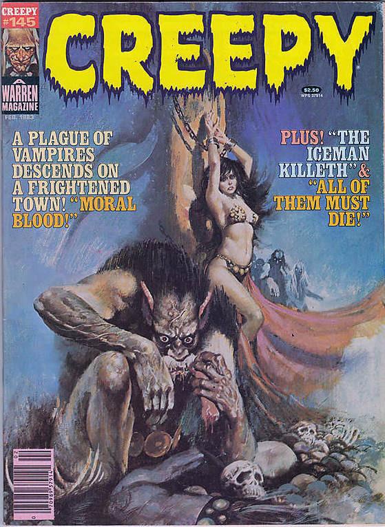 Couverture de Creepy (1964) -145- (sans titre)