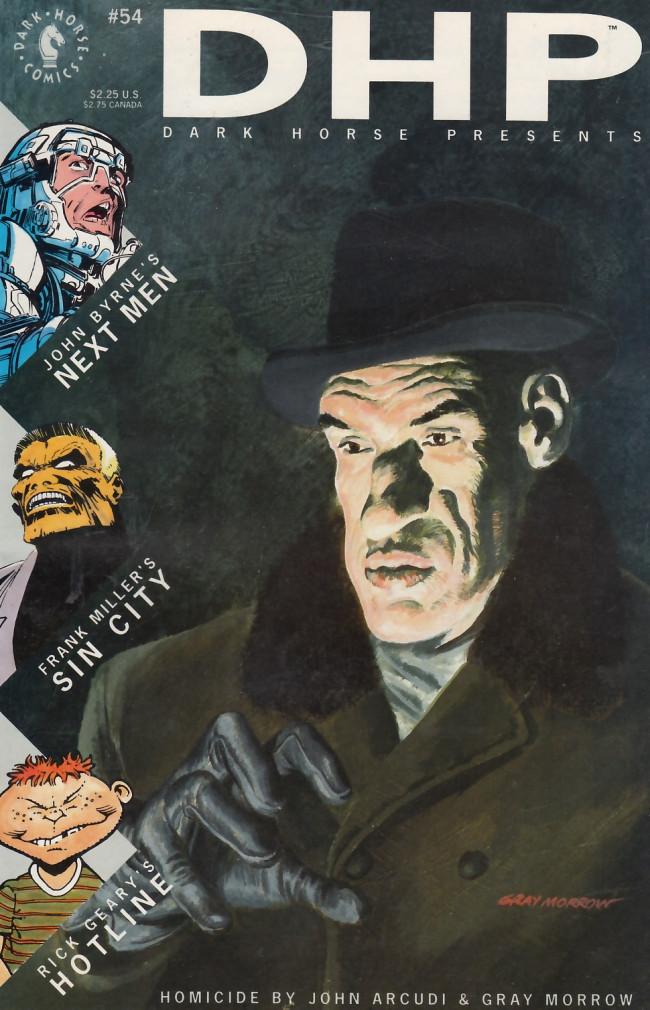 Couverture de Dark Horse Presents (1986) -54- Dark Horse Presents #54