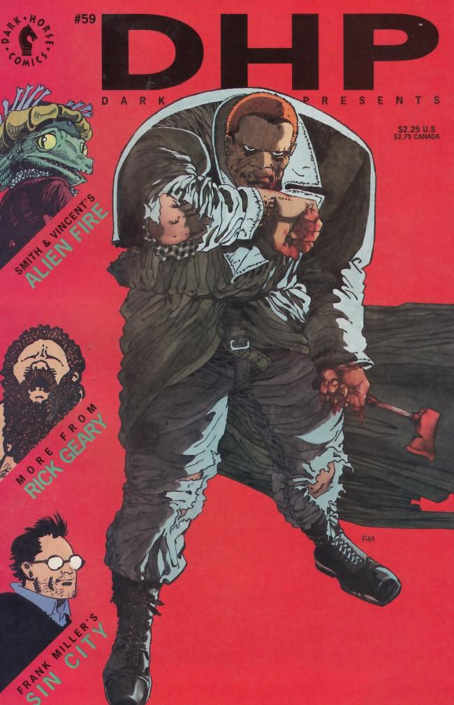 Couverture de Dark Horse Presents (1986) -59- Dark Horse Presents #59