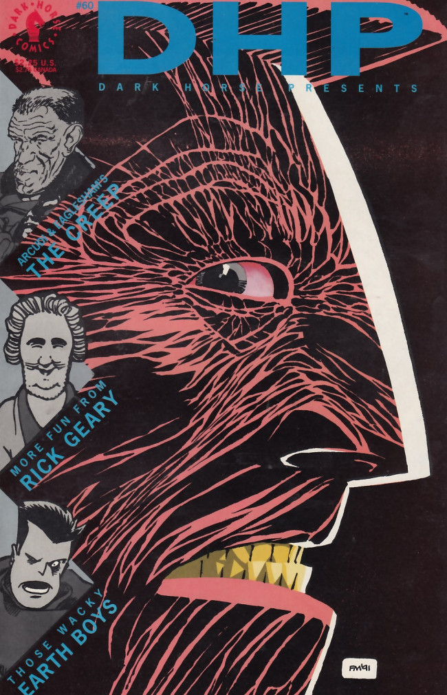 Couverture de Dark Horse Presents (1986) -60- Dark Horse Presents #60