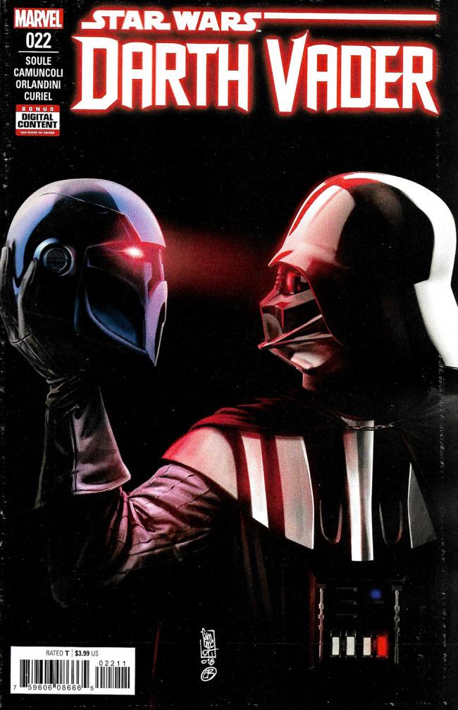 Couverture de Darth Vader (2017) -22- Fortress Vader Part IV