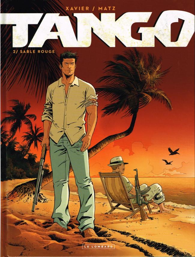 Couverture de Tango (Xavier/Matz) -2- Sable rouge