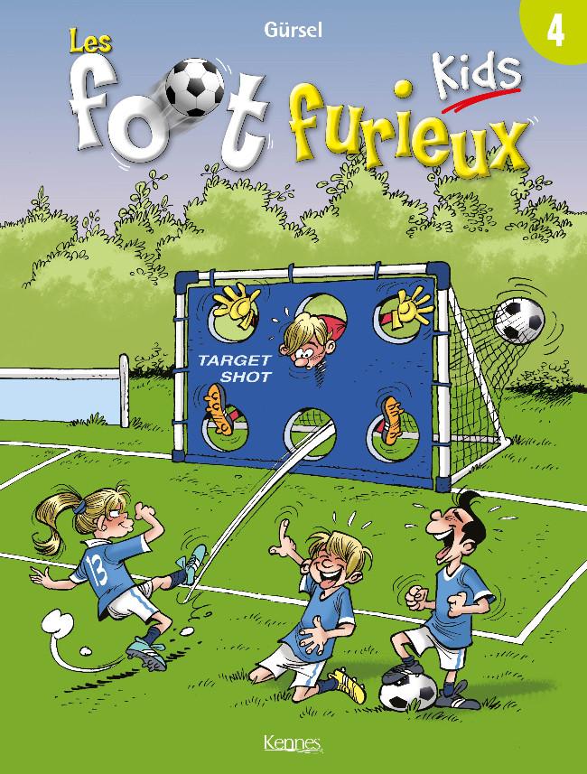 Couverture de Les foot Furieux Kids -4- Tome 4