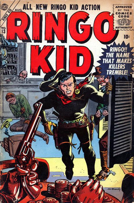 Couverture de Ringo Kid Vol 1 (Atlas - 1954) -13- Ringo!the named that makes killers tremble!
