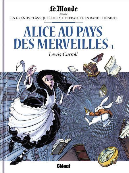 Couverture de Les grands Classiques de la littérature en bande dessinée -47- Alice au Pays des Merveilles