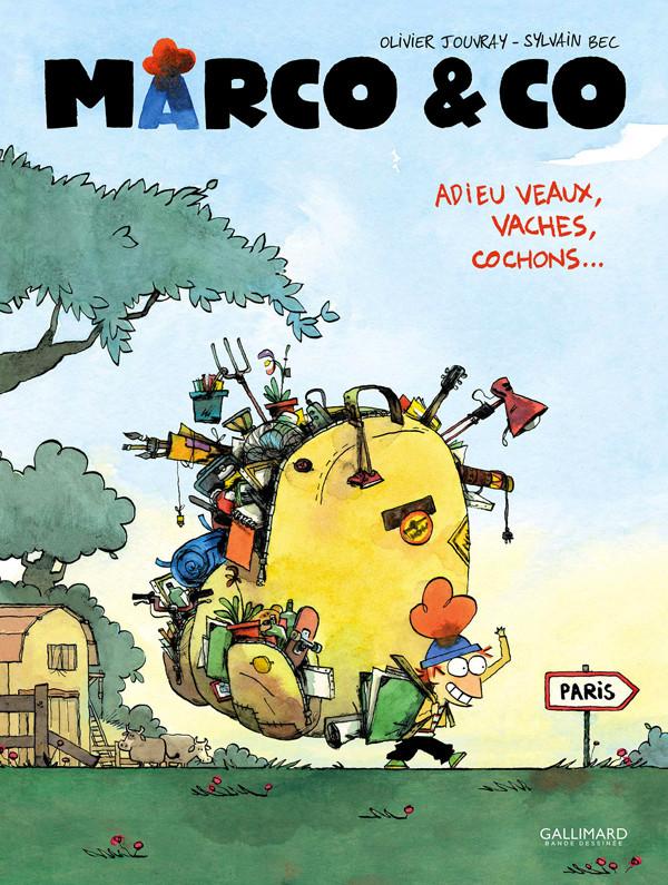 Couverture de Marco & Co -1- Adieu veaux, vaches, cochons...