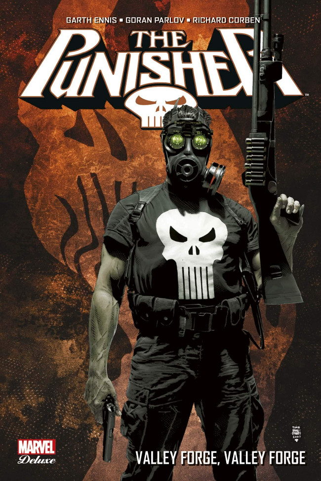 Couverture de Punisher (Marvel Deluxe - 2013) -7- Valley Forge, Valley Forge
