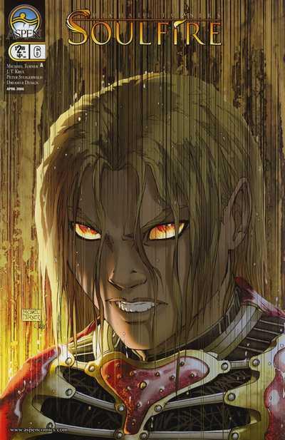 Couverture de Michael Turner's Soulfire (Aspen comics - 2004) -6- Catalyst part 3