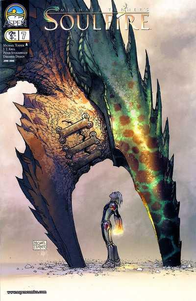 Couverture de Michael Turner's Soulfire (Aspen comics - 2004) -7- Catalyst part 4