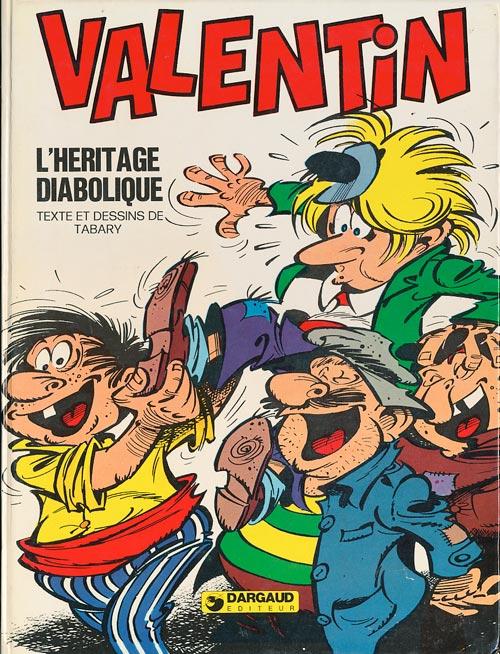 Couverture de Valentin le vagabond -6- L'héritage diabolique