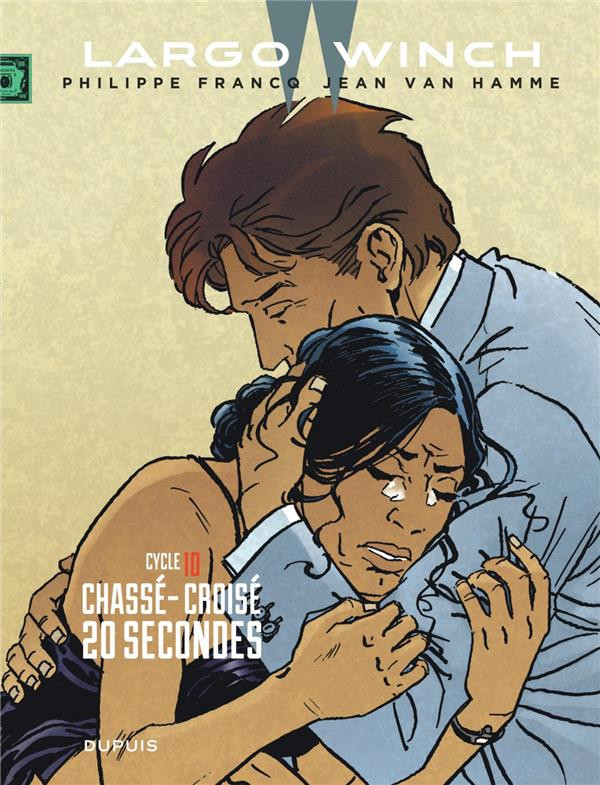 Couverture de Largo Winch (diptyques) -10- Cycle 10