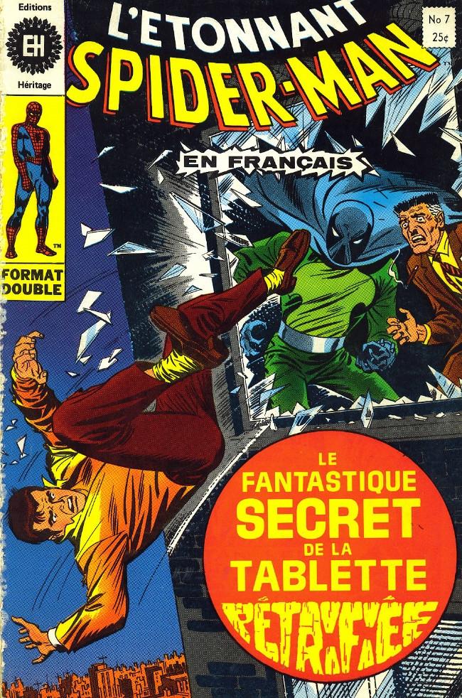 Couverture de L'Étonnant Spider-Man (Éditions Héritage) -7- En plein chahut!