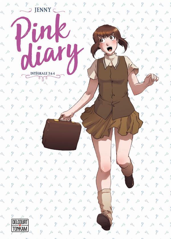 Couverture de Pink Diary -INT02- Intégrale 3 & 4