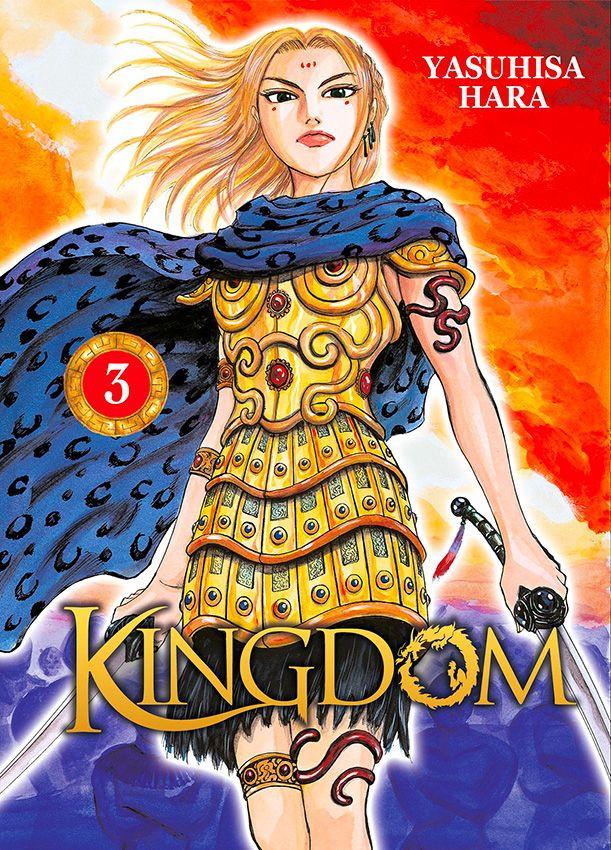 Couverture de Kingdom -3- Tome 3