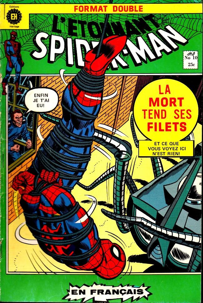 Couverture de L'Étonnant Spider-Man (Éditions Héritage) -10- Aux prises avec un robot géant !